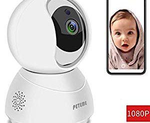 PANNOVO Mini Kamera Kleine HD Wireless Überwachungskameras